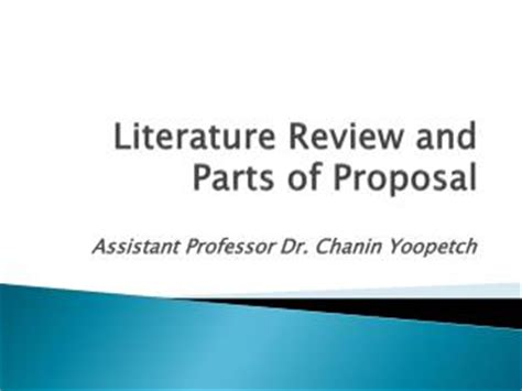 Thesis Proposal Example Examples